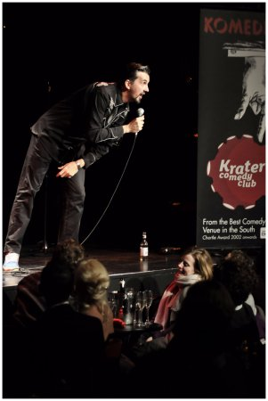 Komedia Bath: Catch the best in up and coming comedy at Krater Comedy Club every Saturday night at Komedia Bat