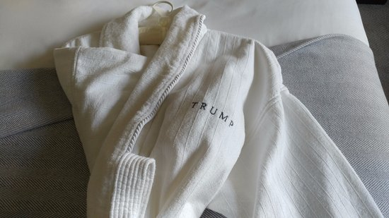 Trump International Hotel and Tower New York: ROBES