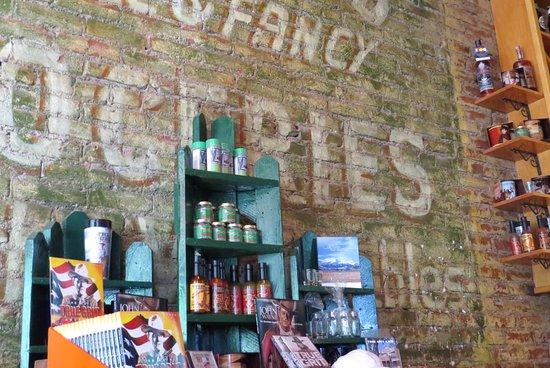 Ridgway, CO: True Grit Cafe wall