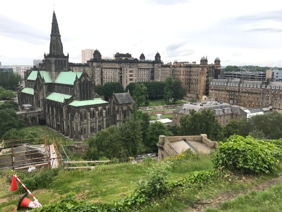 View of Glasgow from The Necropolis