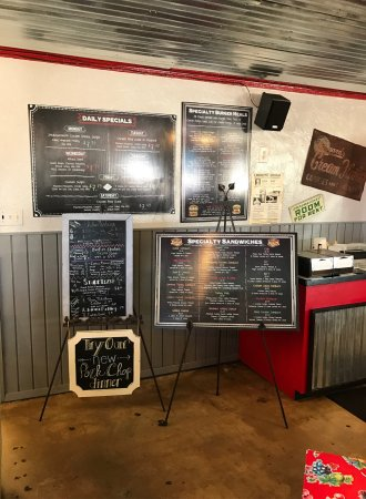 Brownwood, TX: Very big menu selection. Great variety