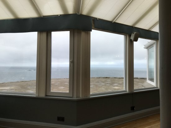 Land's End, UK: View from Dining area.
