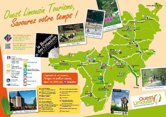 Office de Tourisme Ouest Limousin: Ouest Limousin Tourisme à la carte