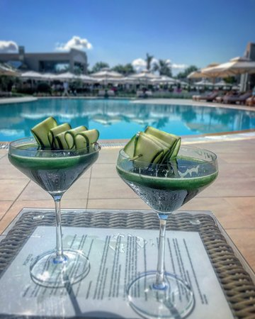 Porto Sani: 10am Healthy Cocktails courtesy of Babis