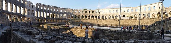 The Arena in Pula: Arena in Pula.