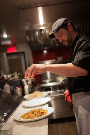 Mont-Joli, Canadá: De bonnes pâtes