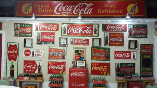 Swainsboro Museum of Coca-Cola Advertisement