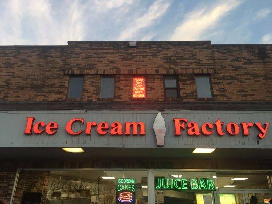 Mount Vernon, NY: Ice cream factory