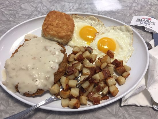 Westerville, OH: Indy 500 Big Breakfast:  Hoosier Pork Tenderloin with eggs, potatoes & biscuit!