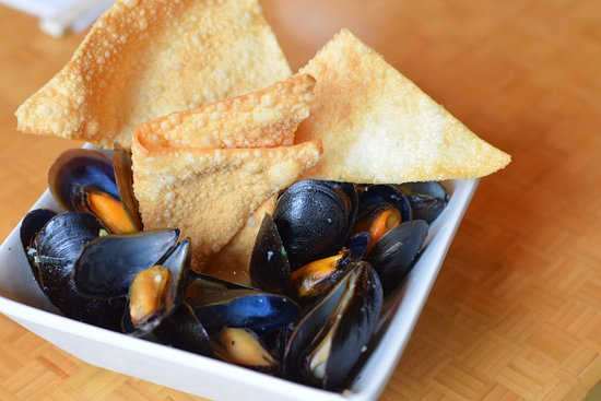 Swiftwater, PA: desaki Sake Mussels