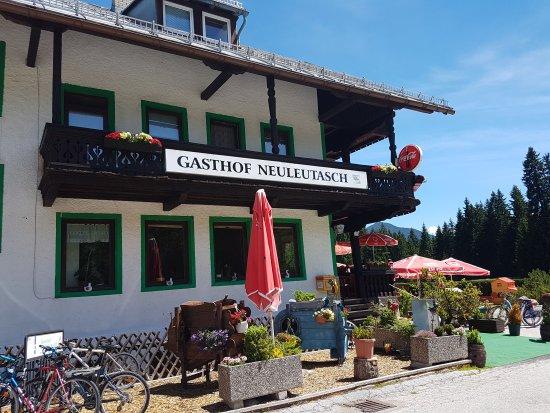 Leutasch, Áustria: Geflügel und Spielzeug