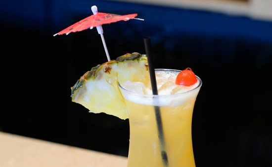 Desaki Restaurant: Island Sunset Cocktail