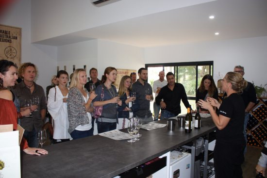 Dunsborough, Australia: A visit to the Snake & Herring Winery