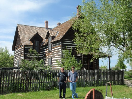 Bozeman, MT: Reconstructed 1870s house
