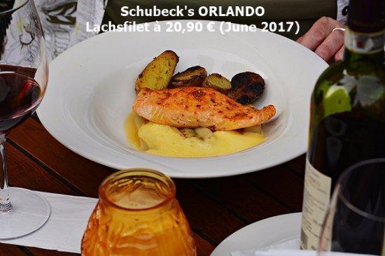 Schuhbeck's Orlando: Lachsfilet