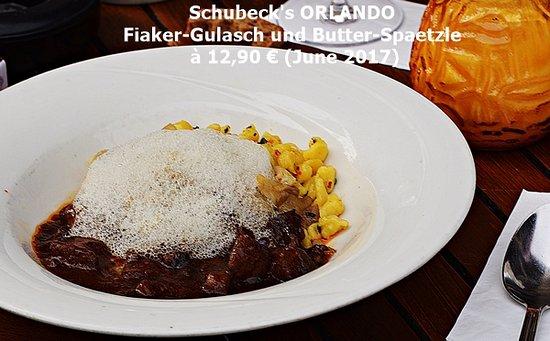 Schuhbeck's Orlando: Fiaker-Gulasch mit Butter-Spaetzle