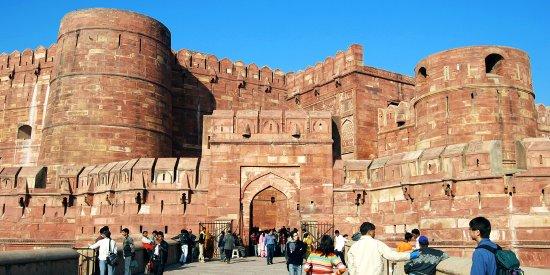 Agra Fort: Entrance