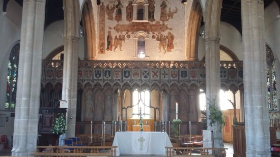The Church of the Assumption of the Blessed Virgin Mary, Attleborough: Easter 2017