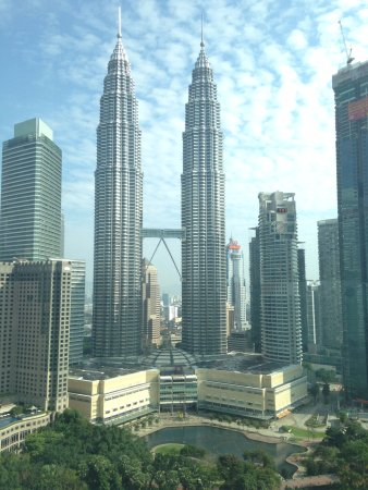View from room (Executive Twin Towers view room)