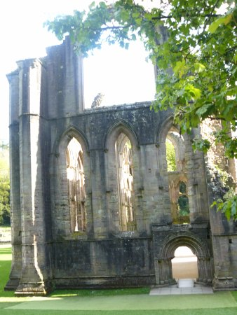 Fountains Abbey and Studley Royal Water Garden: North End of Chapel of the Nine Altars