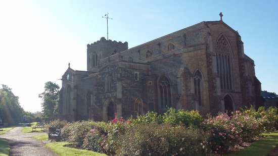 The Church of the Assumption of the Blessed Virgin Mary, Attleborough