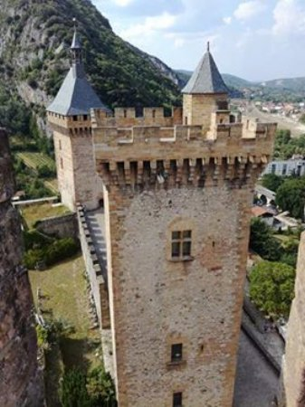 Foix, France: замок 4
