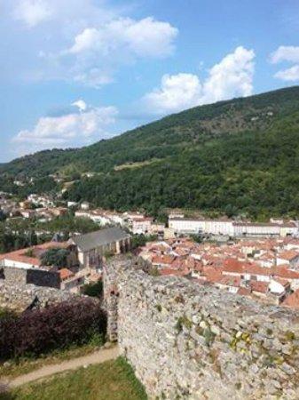Foix, France: вид на город Фуа