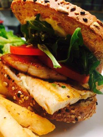 Salem, VA: Lunch trout sandwich