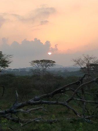Hluhluwe, South Africa: Sunset