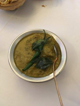 Nilgiri Lamb at Indian Zest Restaurant Sunbury UK