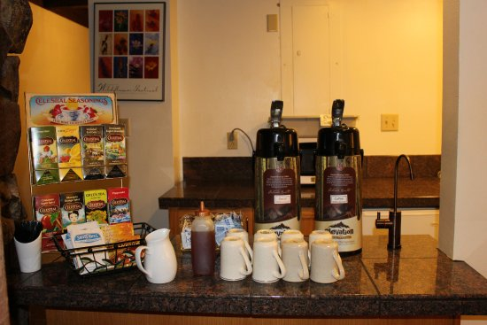Crested Butte, CO: Complimentary hot drinks