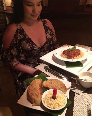 Ojochal, Costa Rica: Pasta Bolognese