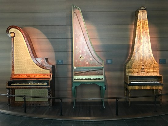 Musical Instruments Museum (MIM): Giraffe Piano, Clavicytherium and Pyramid Piano