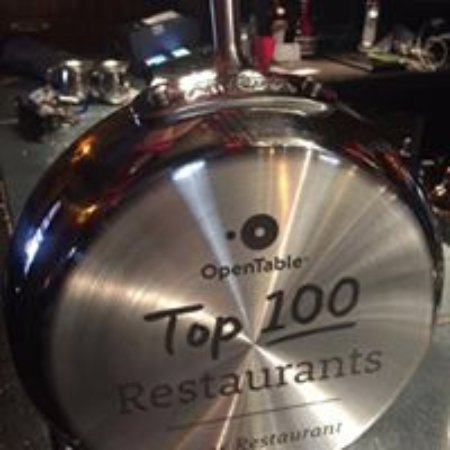 Tapas Restaurant : honoured to be top 100 restaurants with open table