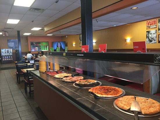 Russellville, AR: Pizza ohne Ende