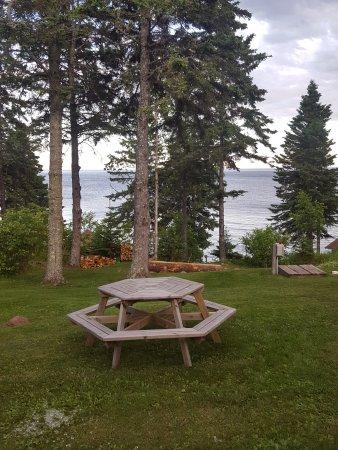 Lutsen, MN: View from Deck...Motel #10