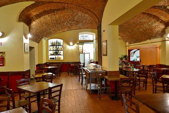 Il Circolino Citta Alta: Der Gastraum Mit Gewölbedecken