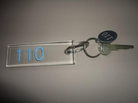 Hotel Atlantic: 部屋の鍵