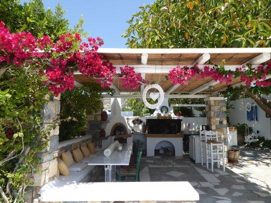 Drios, Grecia: Grillplatz