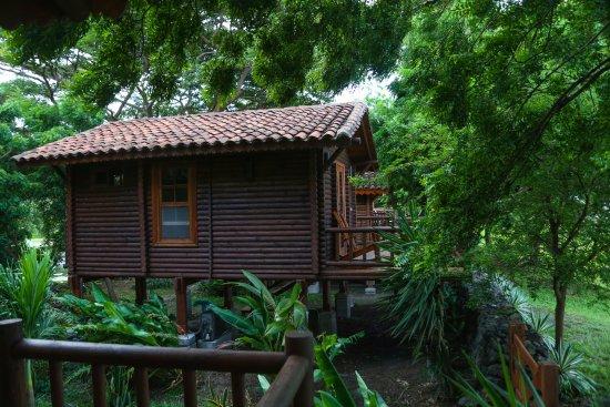 Finca San Juan de la Isla: Estas son las cabañas frente al gran lago de Nicaragua.