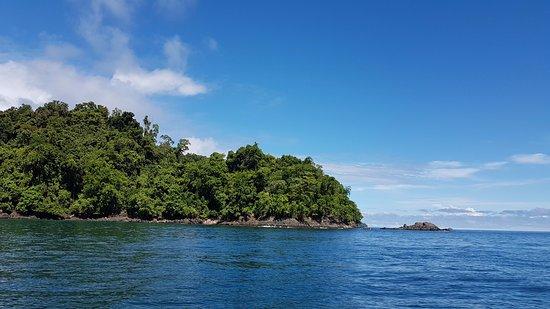 Scuba Coiba: Hacia la playa a hacer tiempo de superficie.