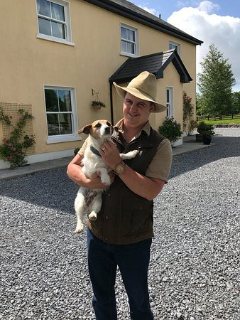 Loughrea, Ireland: Bonding with the house terrier