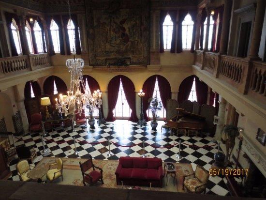 Ca d'Zan Mansion: Main room