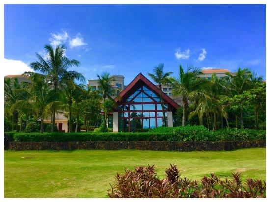 Shangri-La Hotel Haikou: 酒店環境優美,設施齊備,員工服務維持香格里拉五星級水準,極力推薦入住,下次仍會選擇海香。