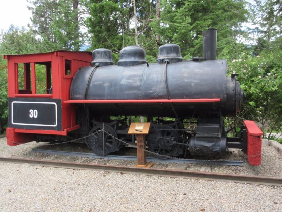 Creston, Canada: Railway engine
