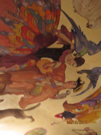 Ca d'Zan Mansion: Ceiling: John & Mabel Ringling