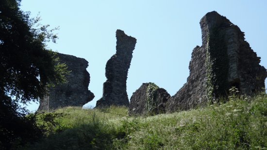 Okehampton, UK: View from the bottom of the hill