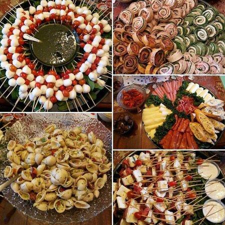Southern Pines, Βόρεια Καρολίνα: Catering platters