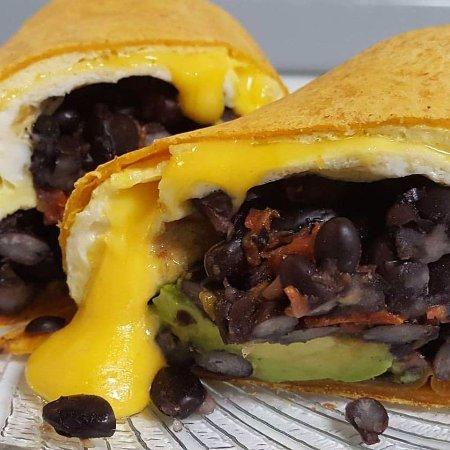 Southern Pines, Kuzey Carolina: Breakfast Burrito