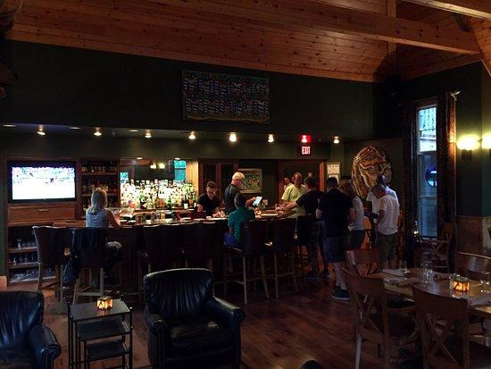 Lost River, Virginia Occidental: Hotel bar